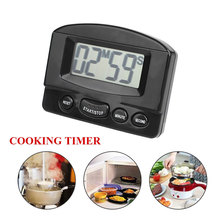 Countdown Timer Outlet LCD Timer Digital Stop Watch Kitchen Cooking Mini Clock Accessories Self-Timer Electronic Magnetic