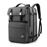 17 Inch Laptop Backpack Raincoat Male Bag USB Charging Multi layer Space Travel FeMale Anti thief Mochila Business School Bags