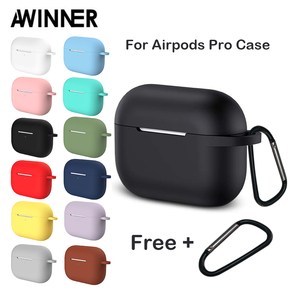 Airpods Pro Case | Silicone Cover Case For Apple Airpods Pro Case Sticker Bluetooth Case For Airpod 3 For Air Pods Pro Earphone Accessories Skin