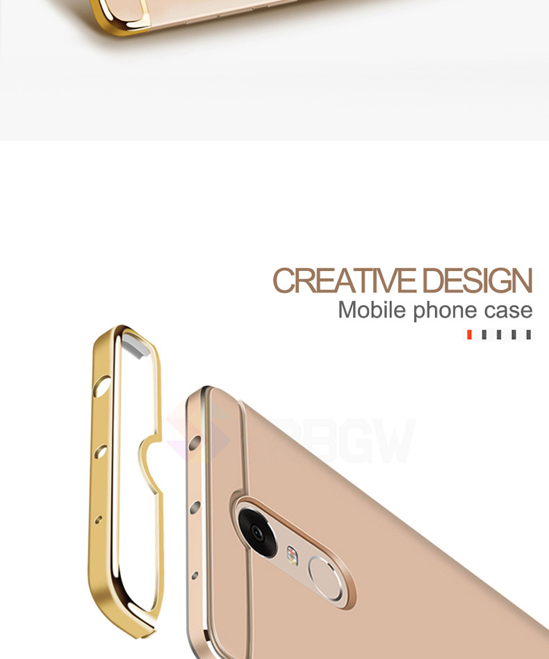 Luxury Hard Case For Xiaomi Redmi Note 4 4X 5A with Full Coverage 12