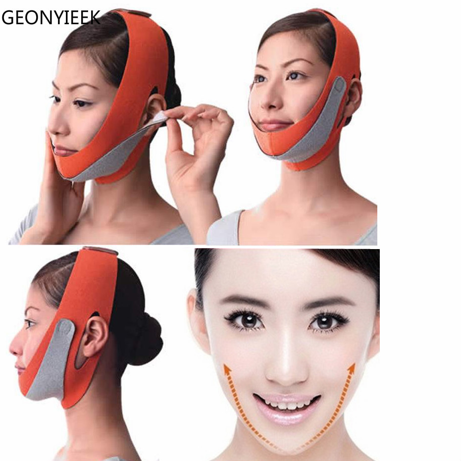 Face Messager Lift Face Mask Slimming Facial Thin Masseter Double Chin Skin Thin Face Bandage Belt Women Face Care Beauty Tools