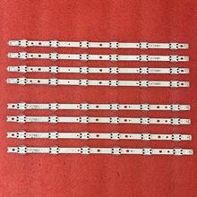5set=20pcs LED Backlight strip For LG 49UV340C 49UJ6525 49UJ6585 49UJ6565 49UJ651V 49UJ670V 49UJ701V V17 49 R1 L1 ART3 2862 2863