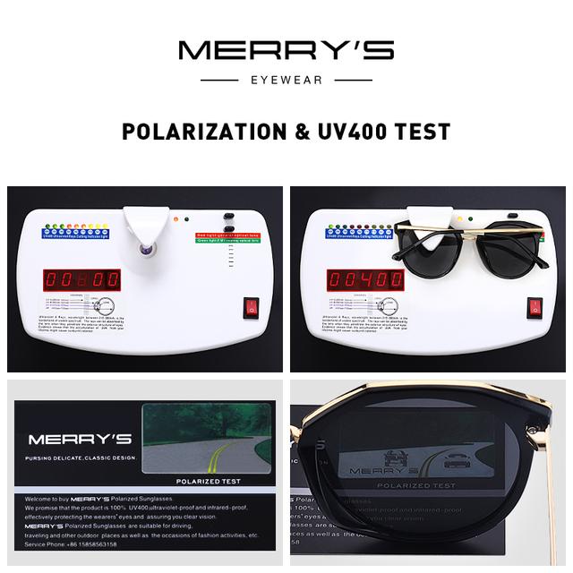 Gafas de sol Cat Eye, polarizadas protección UV400