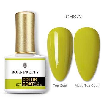 BORN PRETTY Nail Gel 120Colors 10ml Gel Nail Polish Soak Off UV LED Gel Varnish Holographics Shining Nagel Kunst Gellack 119