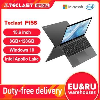 Newest Teclast F15S Windows 10 Laptop 15.6 Inch Notebook 6GB/8GB RAM 128GB ROM Intel Apollo Lake Laptops 1920x1080 FHD Dual Wifi 1