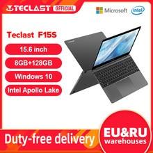 Mais novo teclast f15s windows 10 portátil 15.6 Polegada notebook 6gb/8gb ram 128gb rom intel apollo lago laptops 1920x1080 fhd duplo wifi