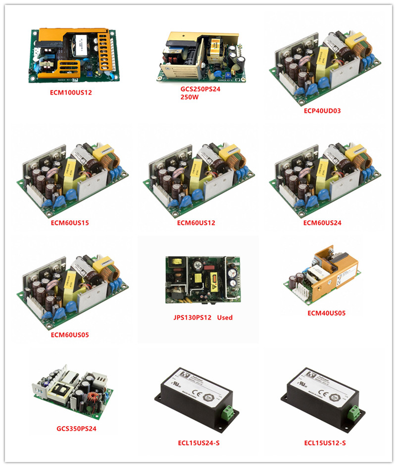 ECM100US12|GCS250PS24|ECP40UD03|ECM60US15|ECM60US12|ECM60US24|ECM60US05|JPS130PS12|ECM40US05|GCS350PS24|ECL15US24-S|ECL15US12-S