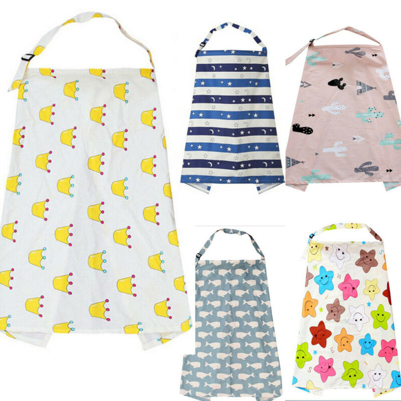 New Breastfeeding Cover Feeding Baby Nursing Apron Women Mum Shawl Clothes Cotton Blanket Cloth Fashion Mommy Apron