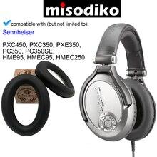 Misodiko yedek kulak pedleri yastık seti Sennheiser PC350/ PXC350/ PXE350/ PXC450/ HME95/ HMEC250