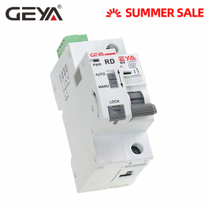 GEYA Din Rail GYM9 1P MCB with Autoreclose Device Automatic Reset Circuit Breaker Smart Home MCB Auto Recloser(China)