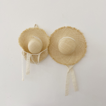 MILANCEL rodzina pasujące ubrania matka i ja ubrania rodzina słomkowy kapelusz dzieci kapelusz słońce tanie i dobre opinie Capris Na co dzień Pełna Pasuje prawda na wymiar weź swój normalny rozmiar Stretch Spandex Stałe Matka i Syn