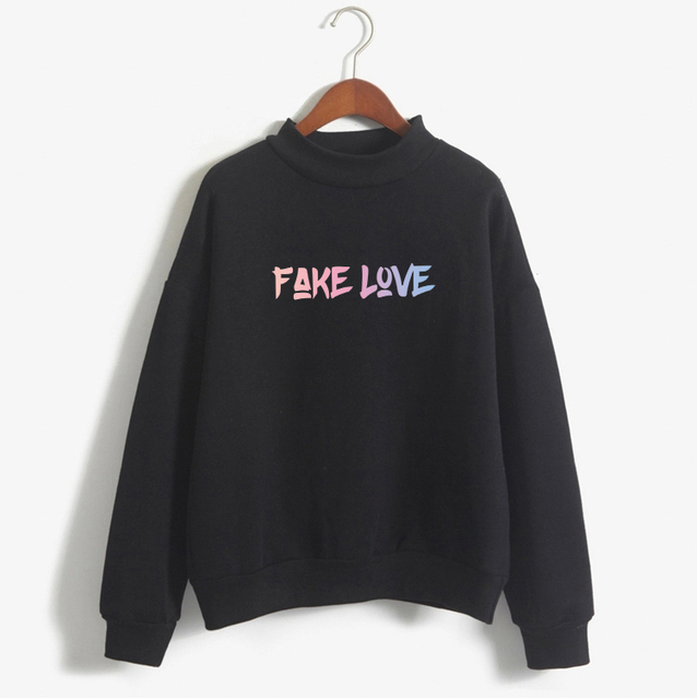 FAKE LOVE THEMED SWEATSHIRT (8 VARIAN)