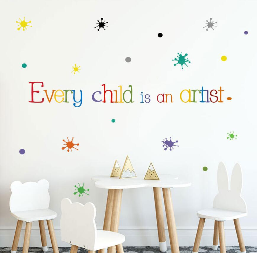 KIDS NURSERY WALL ART DECAL X215 BECAUSE I HAVE A SISTER WALL STICKER QUOTE
