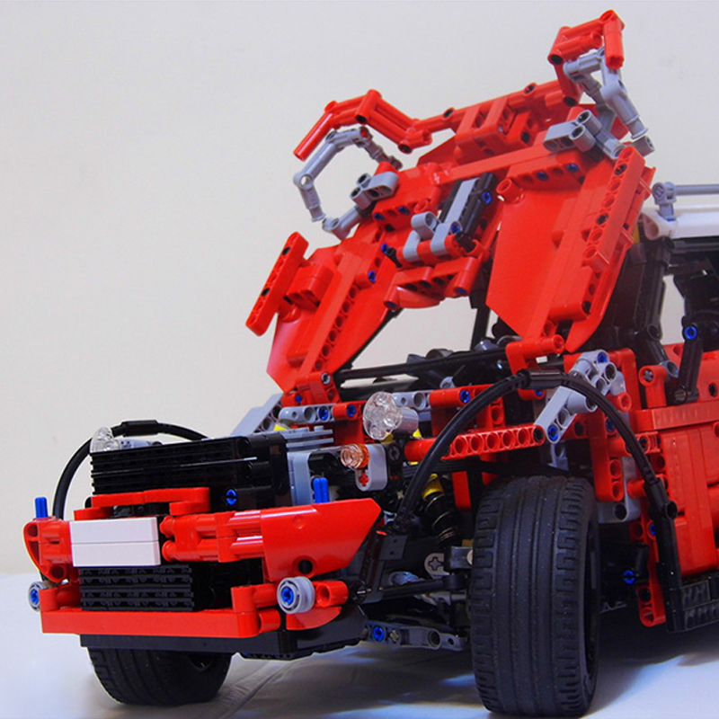 MOC-3644 Blocks Technic Series Diy Car Building Blocks Toys For Children Creators Car Kids Gifts Toys For children Kid Xmas Gift 1