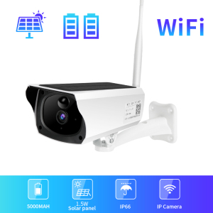 Solar IP Wifi Camera PIR 1080P HD Wireless Outdoor solar Panel CCTV Security Surveillance Camera IP66 WaterProof Two Way Audio