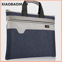 Портфель на молнии Холщовая Сумка А4 деловые сумки сумка для