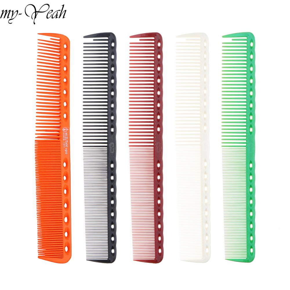 1Pc Hair Comb Anti-static Carbon Fine Tooth Brush Barber Hair Detangling Combs Hairdressing Hair Care Styling Tool