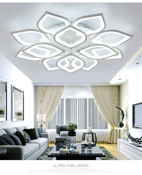 Moderne Plafondlamp met Led lampen - Warm wit 2