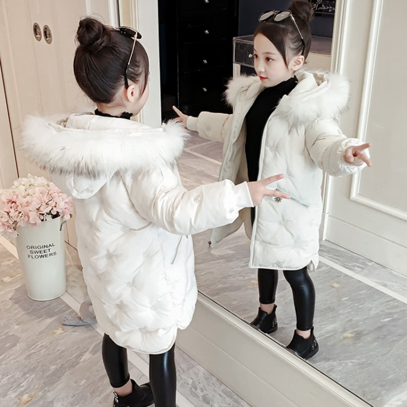 CROAL CHERIE Real Fur Outerwear & Coats Winter Jacket For Girls Children Winter Clothing Outerwear Coat Toddler Clothes (8)