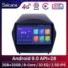 Seicane אנדרואיד 9.0 2din רכב רדיו עבור 2009 2010 2011 2012 2015 יונדאי IX35 GPS מולטימדיה נגן עם Bluetooth OBD2 2GB RAM