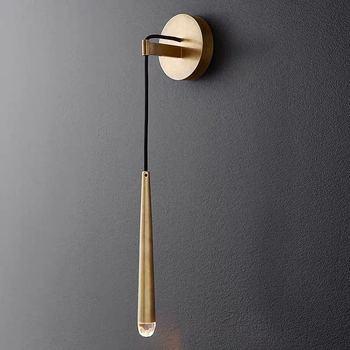 Lámpara de pared creativa y moderna con personalidad, lámpara de noche para dormitorio, retro americano sencilla, decoración de estilo nórdico