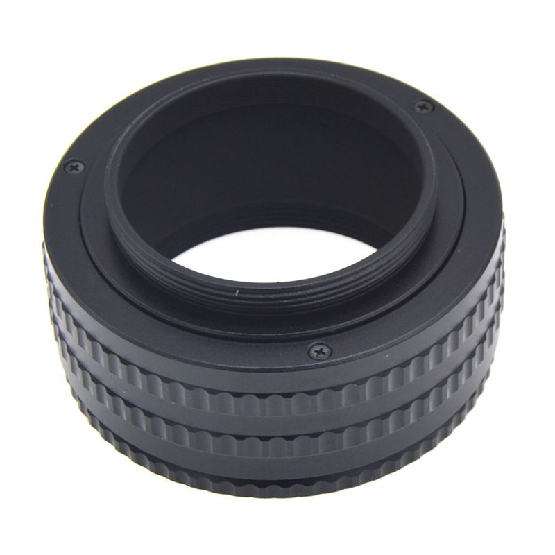 <font><b>M42</b></font> To <font><b>M42</b></font> Mount Lens Adjustable Focusing Helicoid Macro <font><b>Tube</b></font> Adapter 25-55mm image