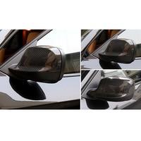 car accessories 2x 100% Real Carbon Fiber Door Rearview Mirror Cover Trim For BMW X1 E84 2010-2012 & X3 F25 2011-2014