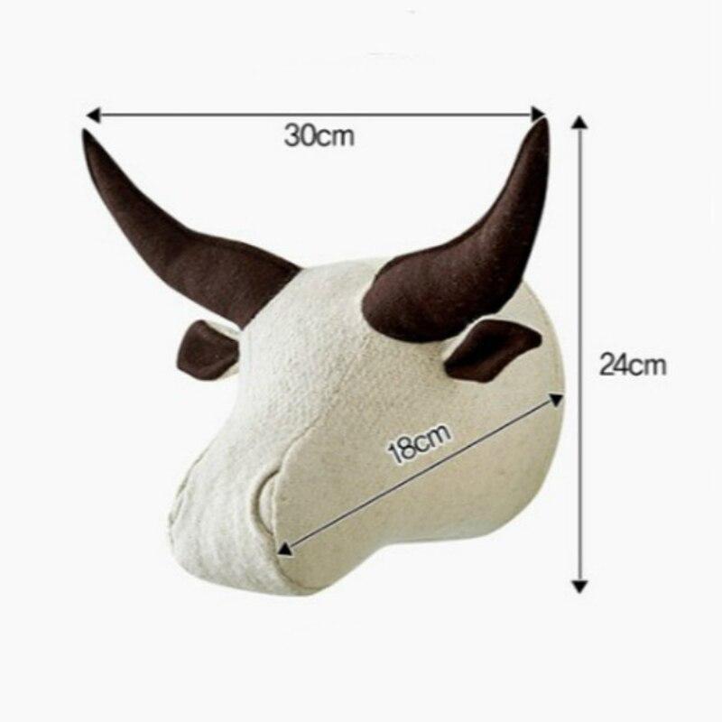 animal wall decoration head toys (1)
