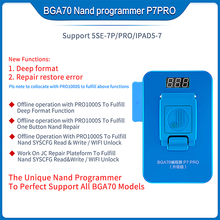 Nand-Programmer Lpad Phone-5se-7p JC for BGA70 Test-Fixture P7 Multi-Function Syscfg-Read