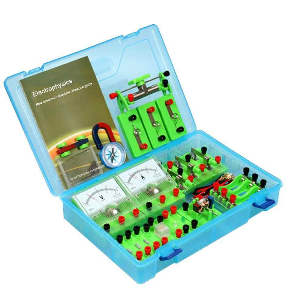 Physics Labs Circuit Learning Kit Basic Electricity Discovery Principles Set Kit