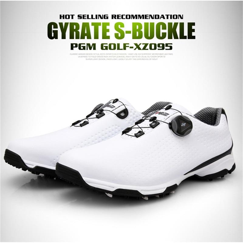 Pgm sapatos de golfe masculino esportes sapatos