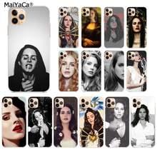 MaiYaCa Lana Del Rey fumadores de Coque caja Del teléfono Shell para iPhone 11 pro XS MAX 8 7 6 6S Plus X 5S SE 2020 XR fundas
