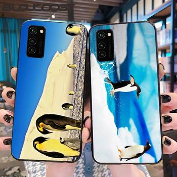 Honest And Cute Antarctic Penguin Phone Case For Honor 10 20 Lite View20 7C 5.7inch 8 5 7A 5.45inch 10 20i PLAY 30 PRO image