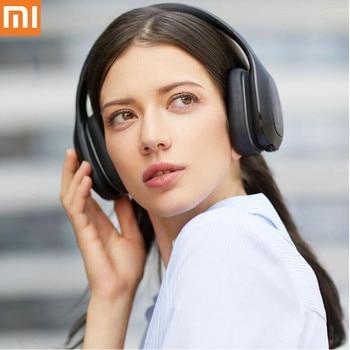 Original Xiaomi Mi Bluetooth Headset Wireless Bluetooth Headphones aptx 40mm Dynamic PU Earphone For Mobile Phone Games