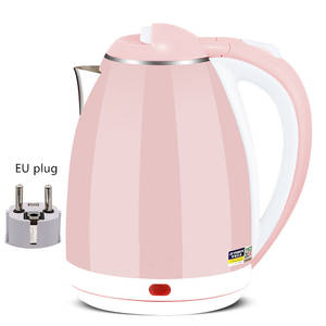 Teapot-Pot Electric-Kettle Water-Boiler Sonifer Cordless Portable Heating Stainless-Steel