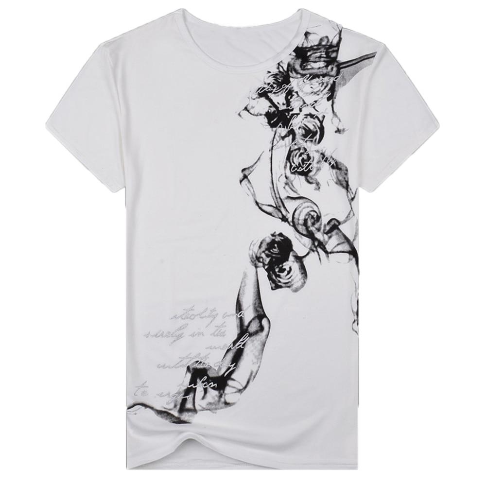 Funny Anime Print Oversized Men T Shirt 2