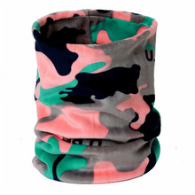 lerfey winter unisex women men sports thermal fleece ring scarf snood neck warmer face mask beanie hats 1 pc 3in1 scarves 2019 Unisex Beanie Hats Ski Snood Scarf Women Men Thermal Fleece print Scarf Snood Neck Warmer riding Face Mask Winter