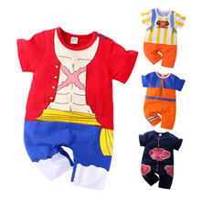 Infant Jumpsuit Outfits Romper Naruto Newborn-Baby Costume Anime Girl Cotton Cartoon