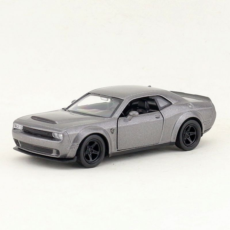 High Simulation Exquisite Diecasts & Toy Vehicles: RMZ City Car Styling Dodge Challenger SRT Demon 1:36 Alloy Diecast Car Model