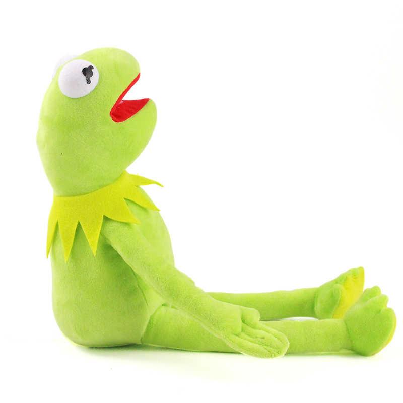 42cm Kermit peluş oyuncaklar susam sokak kurbağalar bebek dolması hayvan Kermit oyuncak Drop shipping tatil hediyeler