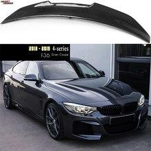 F36 de fibra de carbono Spoiler trasero tronco ala de labio para BMW F36 serie 4 Gran Coupe 2014 - 2020 420i 428i 435i