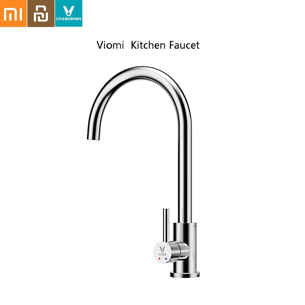 VIOMI Faucet Kitchen Water Tap Hot And Cold Dual Control Water Saving Aerator Universal Tube 304 Stainless Steel From Xiaomi