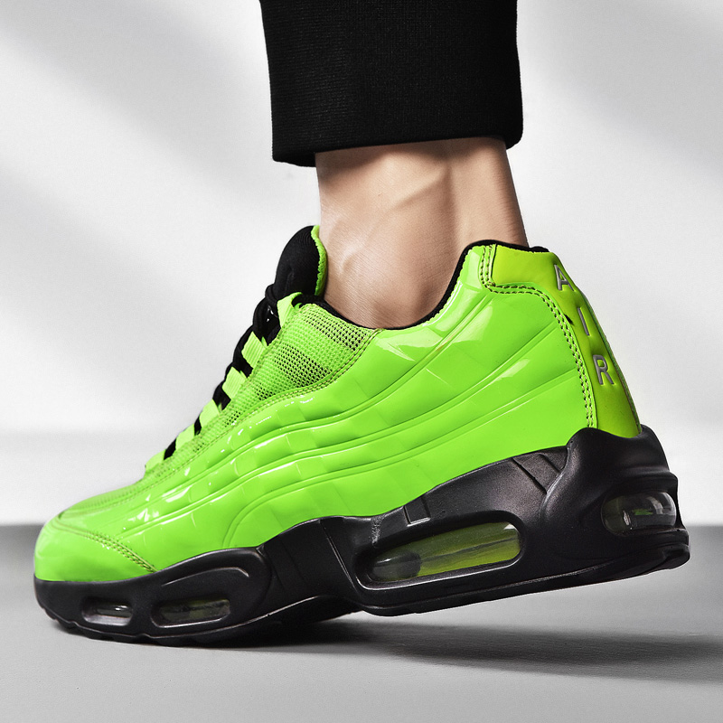High-Top Sneakers Sport Shoes Men Air Cushion Shoes Masculino Adulto Sport Height Increasing Air Max 95 Drop Shipping