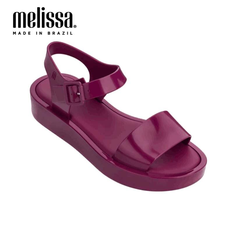 Melissa Woman Jelly Shoes 2020 New Women Sandals Roman Shoes Breathable Comfortable Beach Sandals Melissa Shoes Size