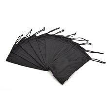 1 шт. Черный Прочный пылезащитный Мягкий тканевый чехол для солнцезащитных очков сумка из микрофибры для хранения очков переносные очки контейнер