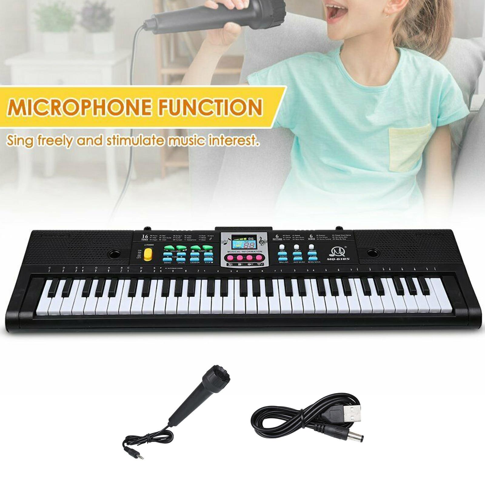 61 Keys Electronic Keyboard Digital Piano Kids Musical Toys Musical Instrument