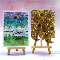 Flower Stamps for Scrapbooking Letter Animal Halloween Transparent Clear Silicone Stamp/Seal for Card Making Photo Album Decor