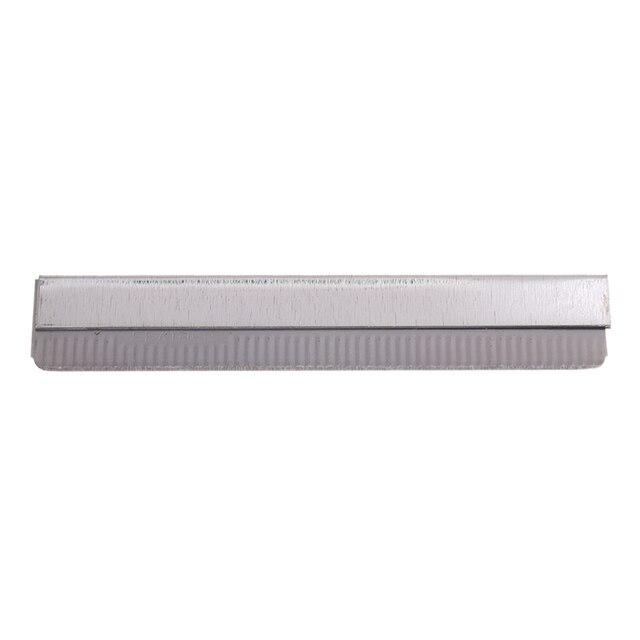 10 Pcs Stainless Steel Straight Edge Shaving Razor Blade