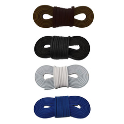 Genuine Leather Shoelaces 0.1inch Square Cut To Fit Boot Laces - 72 Inch