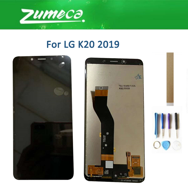 Original For LG K20 2019 LCD Display+Touch Screen Digitizer Assembly Black Color With Tools